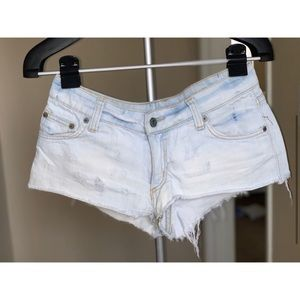 LF Carmar Light Washed Denim Shorts